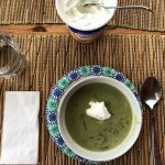 Creamy Cheesy Spinach Soup