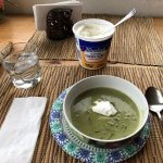 Spinach Soup with Sour Cream