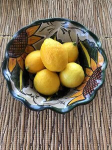 Lemons have such a loyal following for many reasons especially for the benefits of drinking lemon water in the morning. Did you know that lemon water helps with weight loss and is a detox. Combine lemon water with ginger and you have a real winner. Learn how to make a variety of lemon water recipes by clicking here. #lemonwater #lemonwaterinthemorning #lemonwaterbenefits #lemonwaterweightloss #lemonwaterrecipe