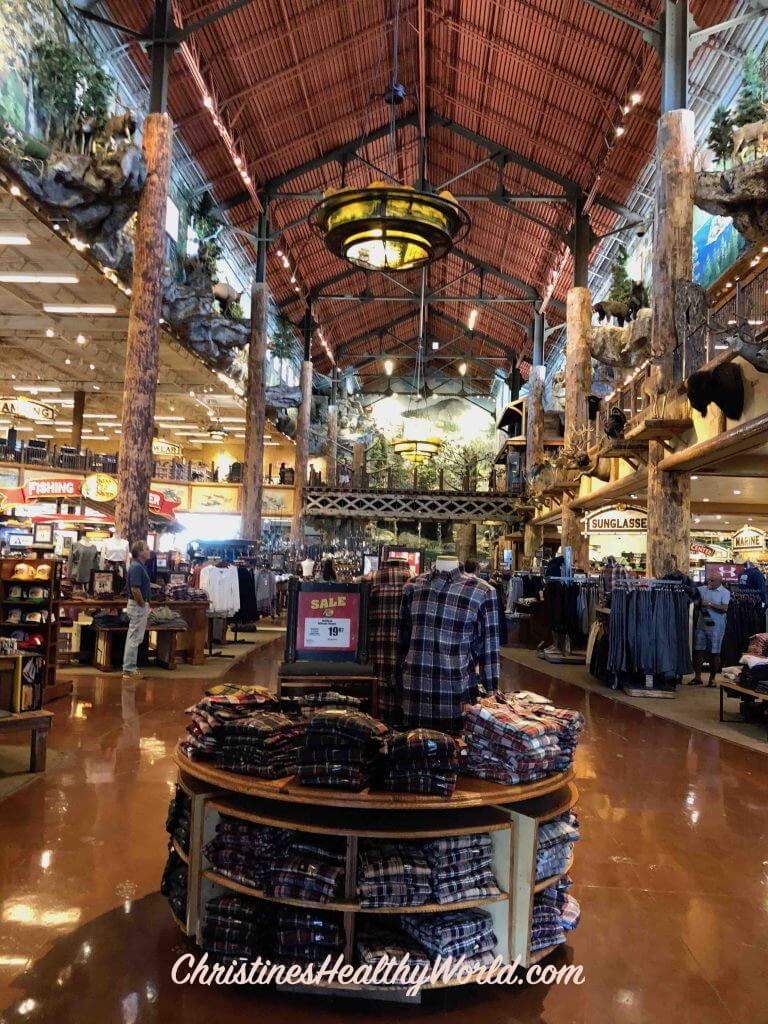 Bass Pro Shop Looking to Back of Store