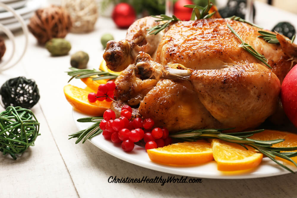 how not to put on weight during holidays turkey dinner